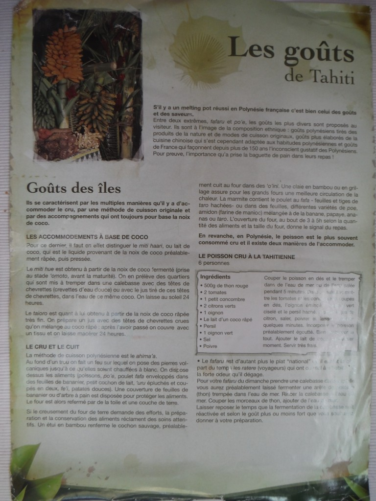 10 feines Rezept in Erinnerung an Tahiti