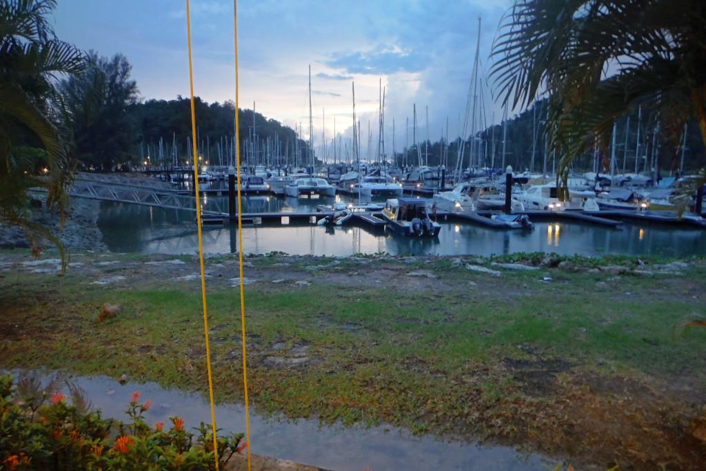 7 Abend in der Marina