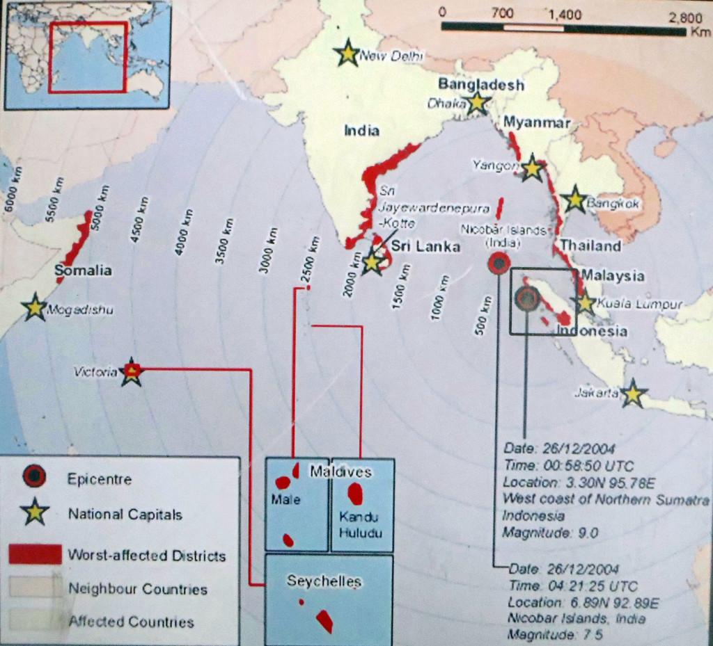 12 Verbreitung des Tsunami