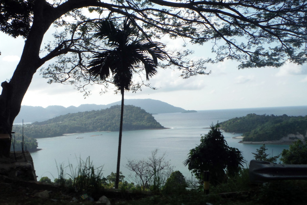 3 Vulkan-Insel Pulau We