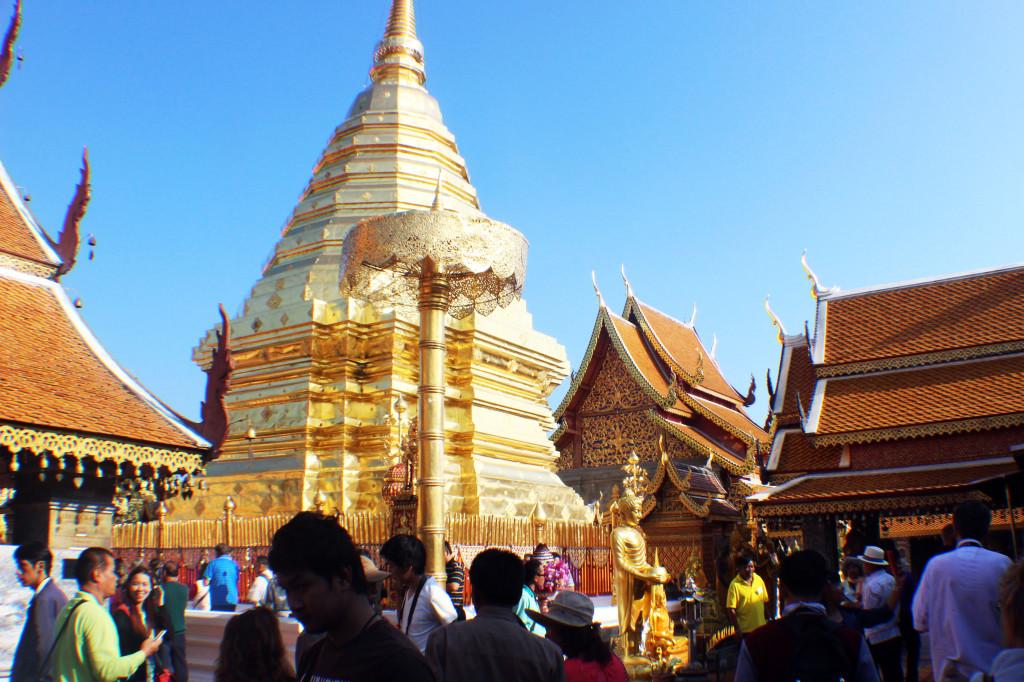 35 Wat Doi Suthep Tempel Wahrzeichen Chiang Mai